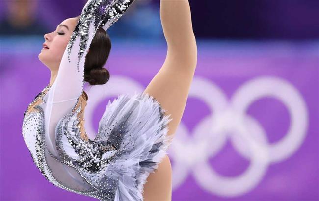 Zagitova, 15, sets skate mark as Bjoergen makes Games history