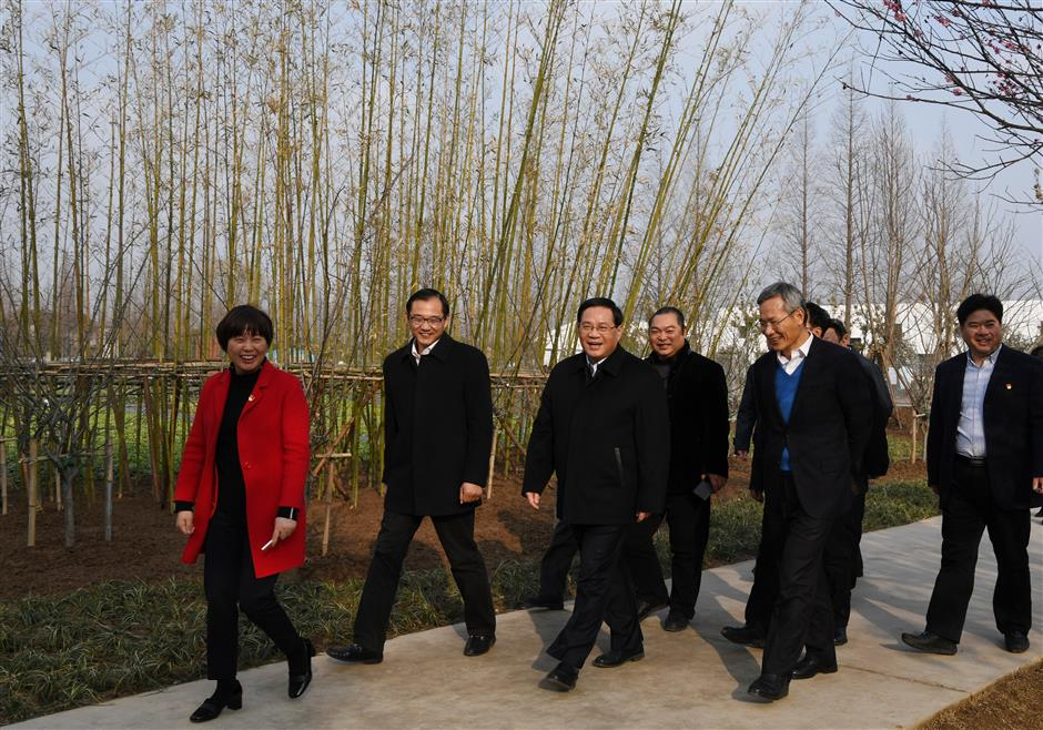 Shanghai Party Secretary: Build Chongming into a global eco-island