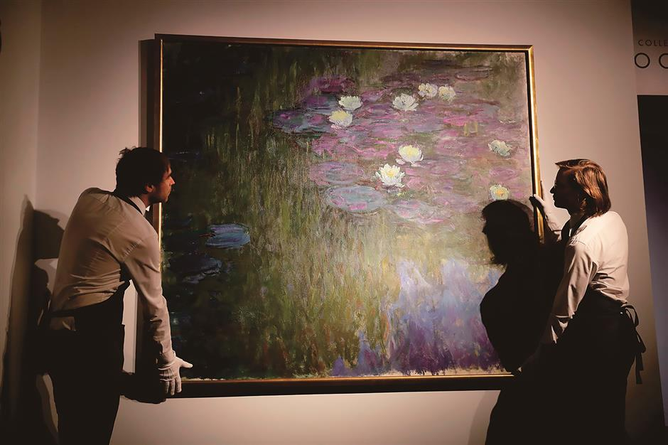 Picasso, Monet among treasures on auction