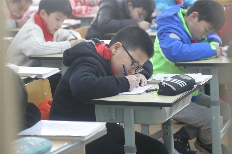 It's back to school for students across Shanghai