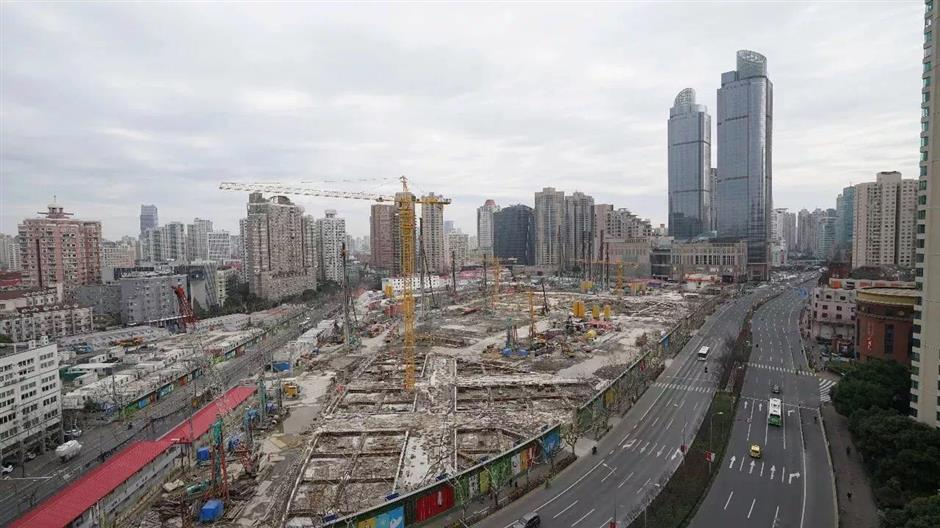 Puxi's tallest building to rise in Xujiahui