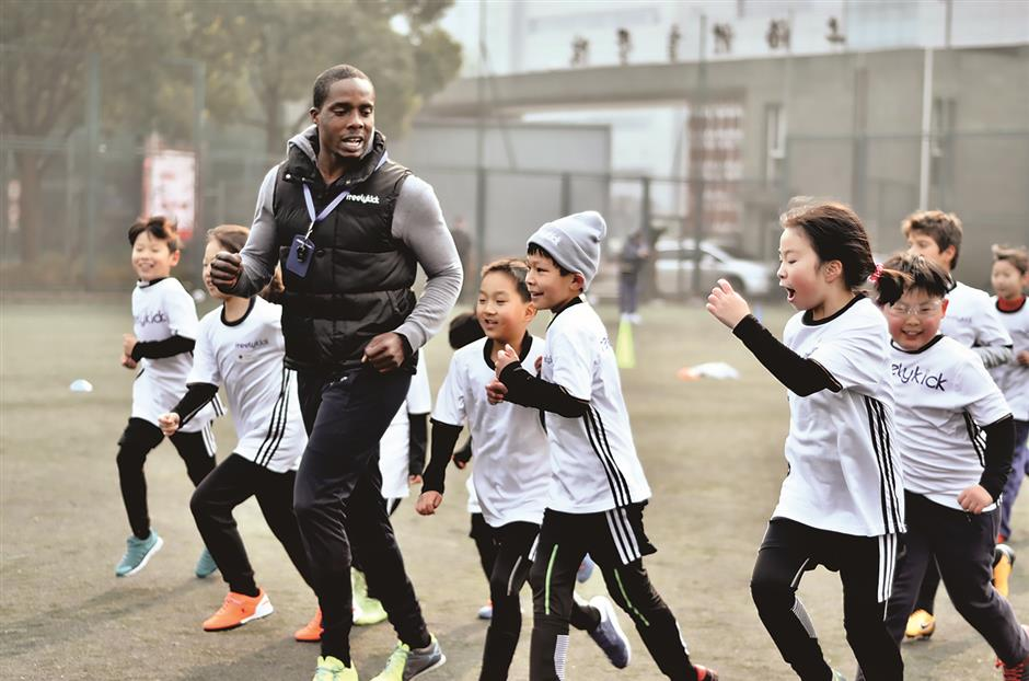 Soccer camp brings students of 5 countries together
