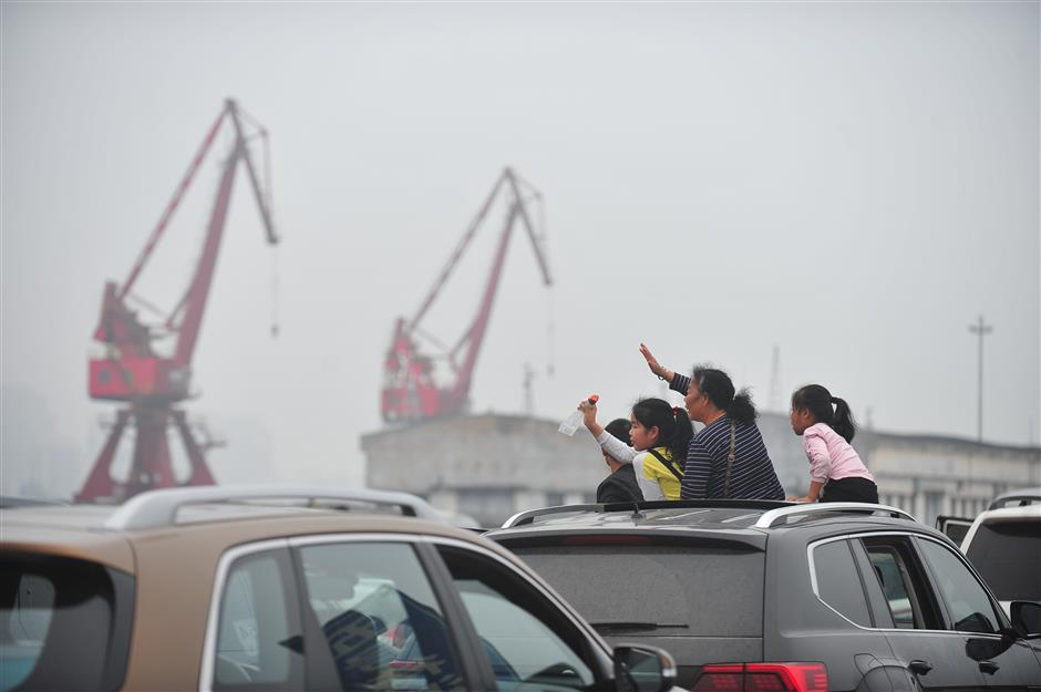 Ferry services back to normal on south China strait