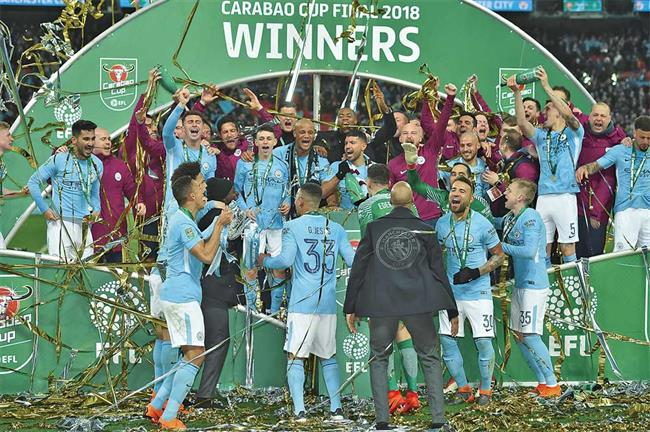 Sky is the limit for Pep's City slickers