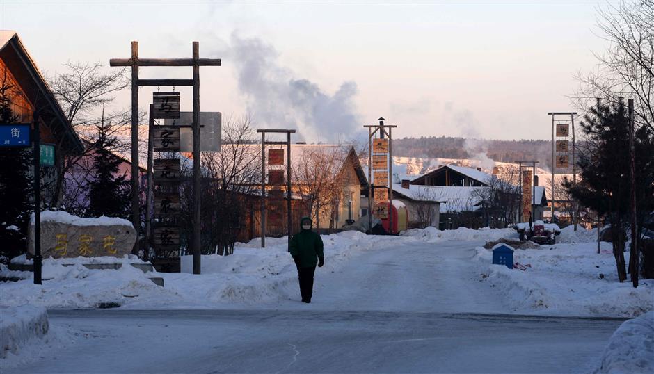 China's North Pole Village: a rare summer and winter wonderland