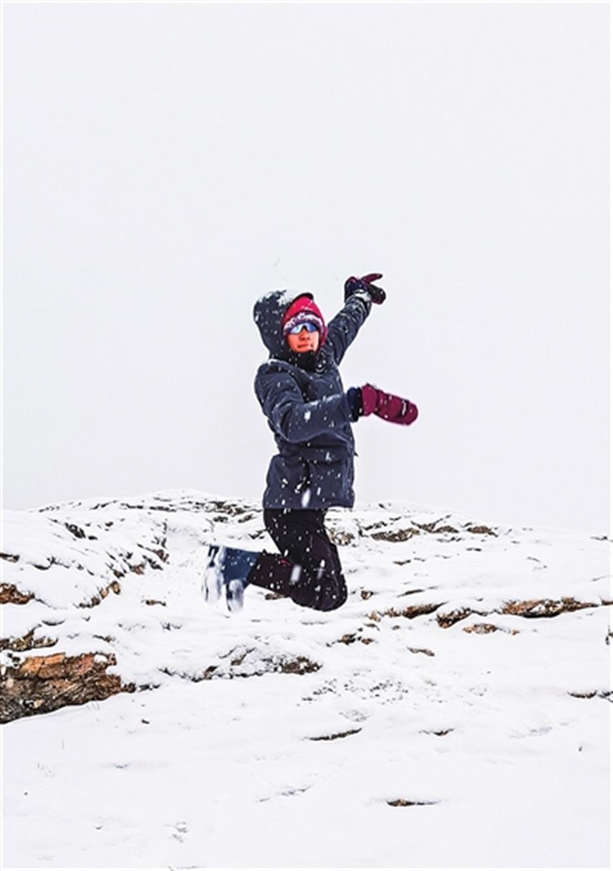 An adventure frozen in thrilling memories