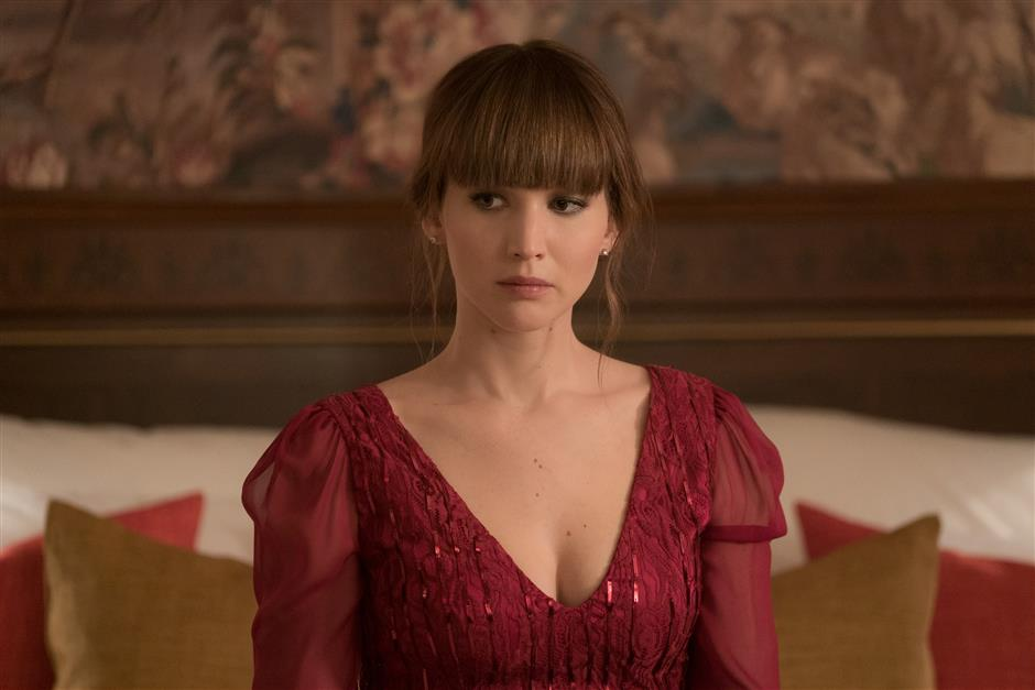 Red Sparrow fails to take off as spy film