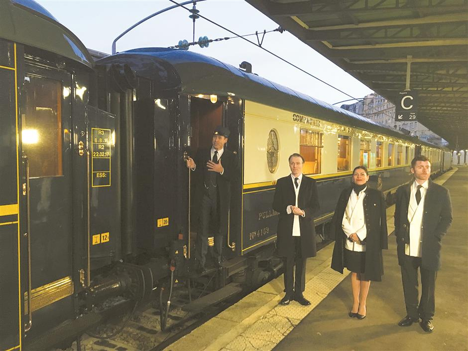 Whodunnit? Agatha Christie's exotic Orient Express takes to the rails again