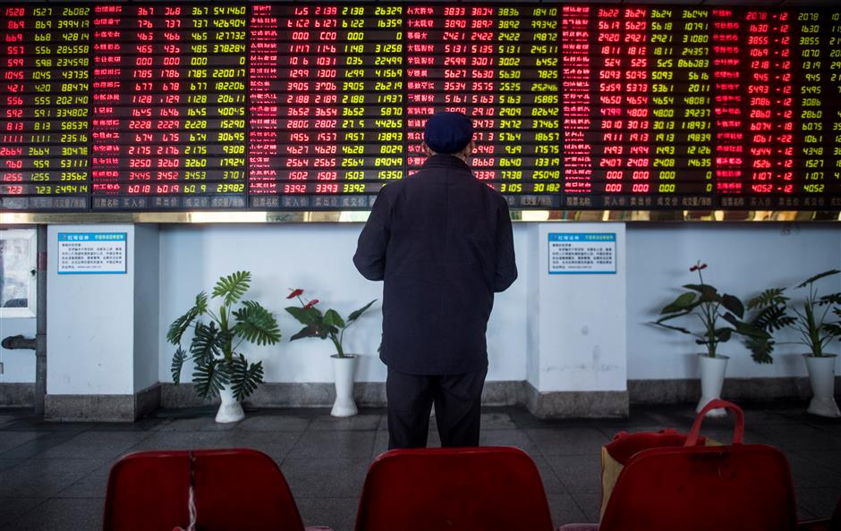 Shanghai shares lose 0.59% on Friday
