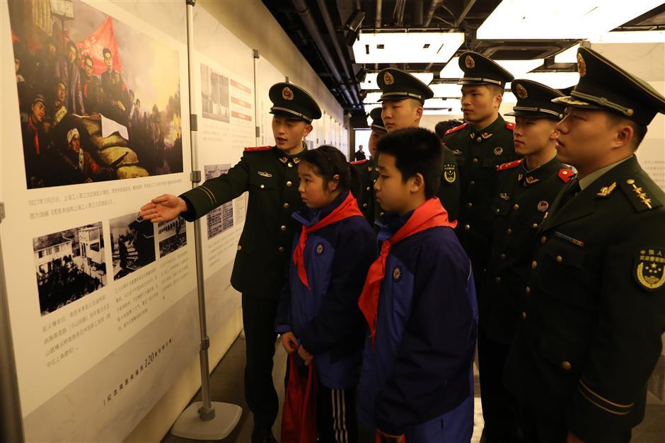 Exhibitions recallPremier Zhou Enlai's experiences in Shanghai