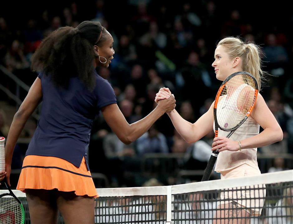 Venus backs her sister Serena in WTA comeback