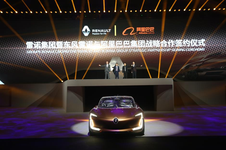 Alibaba partners with Renault