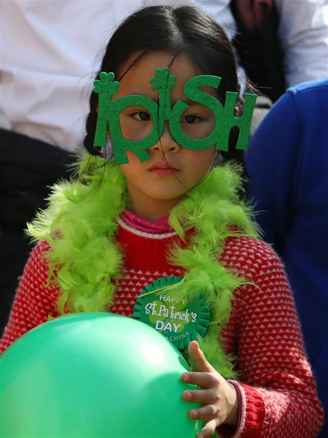Irish festival celebrated in Shanghai