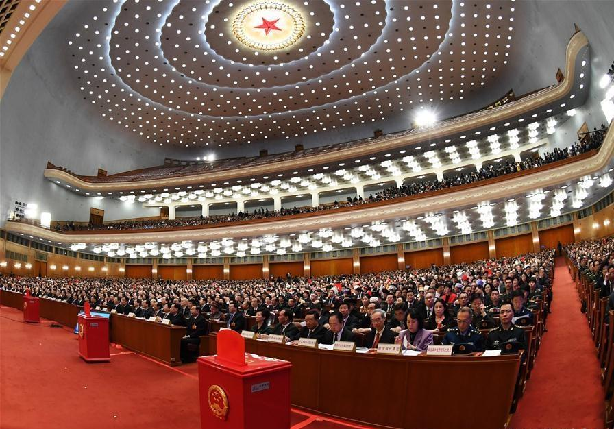 China's national legislature starts 3rd plenary meeting of annual session