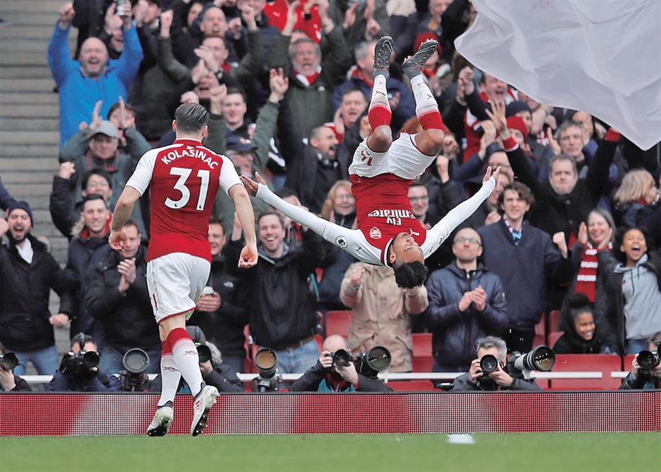 Arsenal ends EPL losing streak