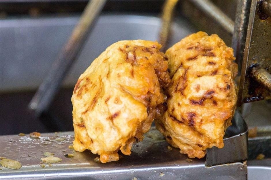 Deep-fried and delicious snacks are part of history