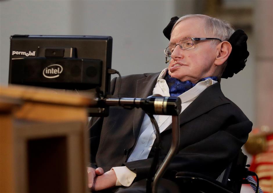British scientist Stephen Hawking dead at age 76, family spokesman says