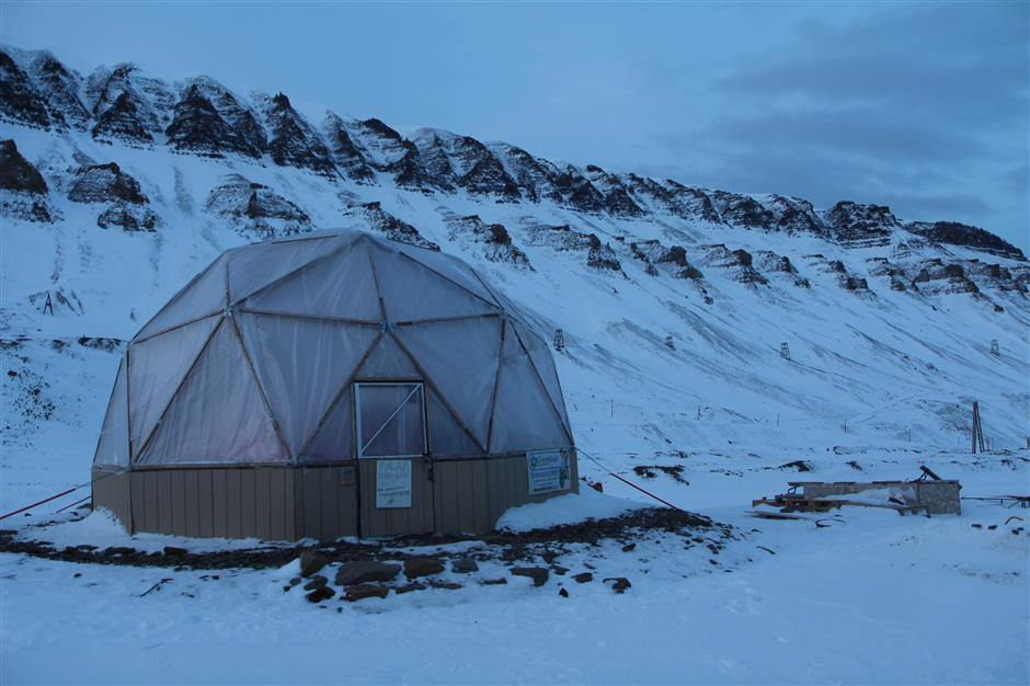 US chef on an Arctic self-sufficiency mission