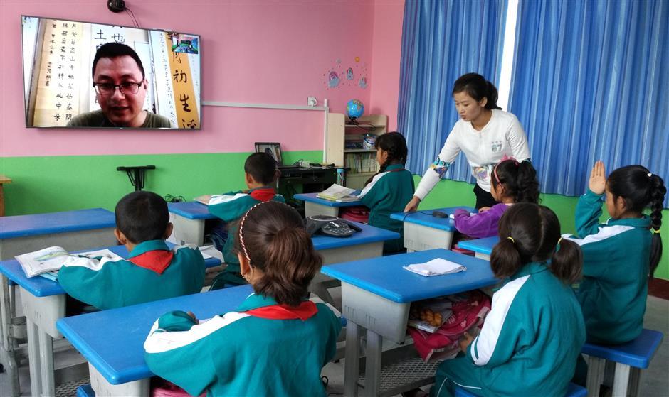Volunteer teachers a boon to rural schools