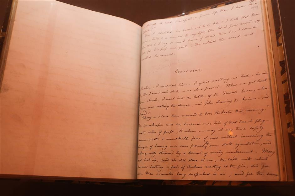 Original manuscripts by British literary greats on display
