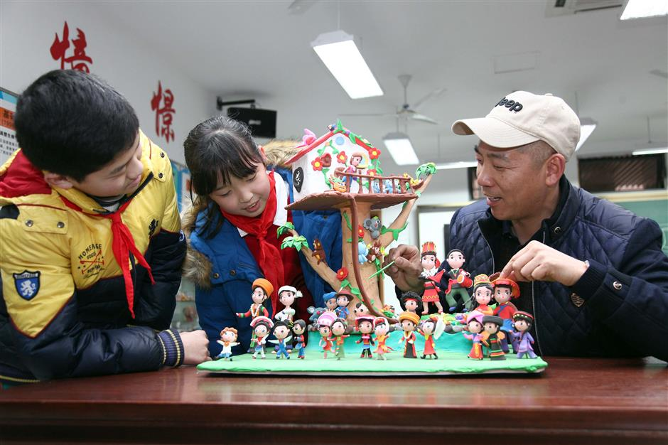 Schools honored for promoting folk art