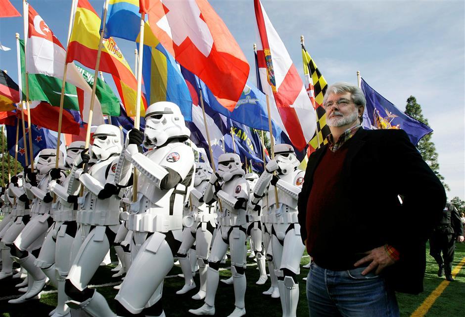 George Lucas breaks art museum ground