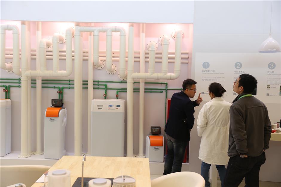 Industrial treatment giants eye domestic market
