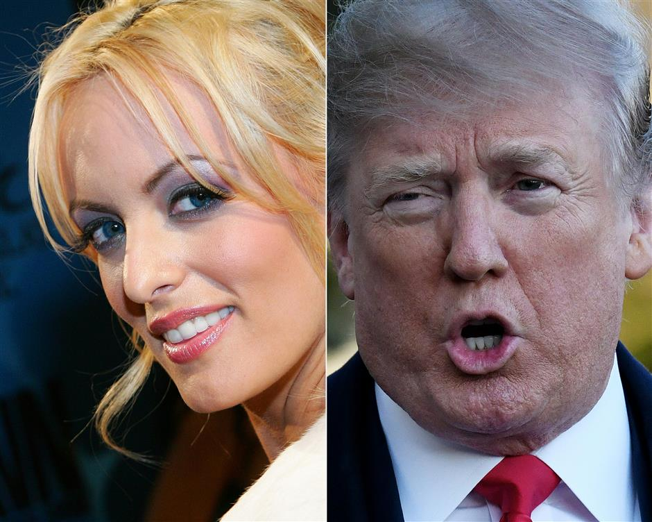 US adult film star describes alleged affair with Trump