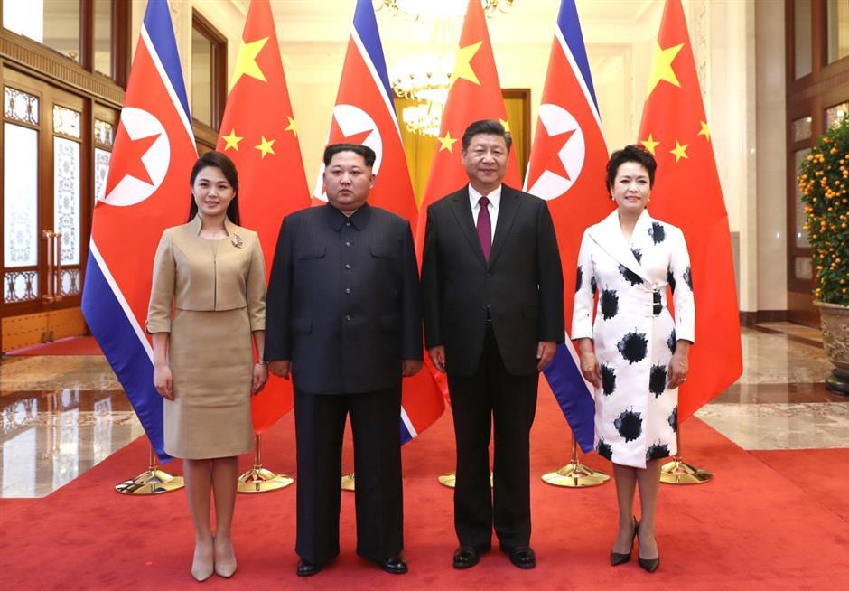 Xi Jinping, Kim Jong Un hold talks in Beijing