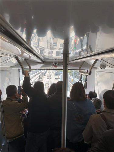 DriverlessMetro line on trial run in Shanghai