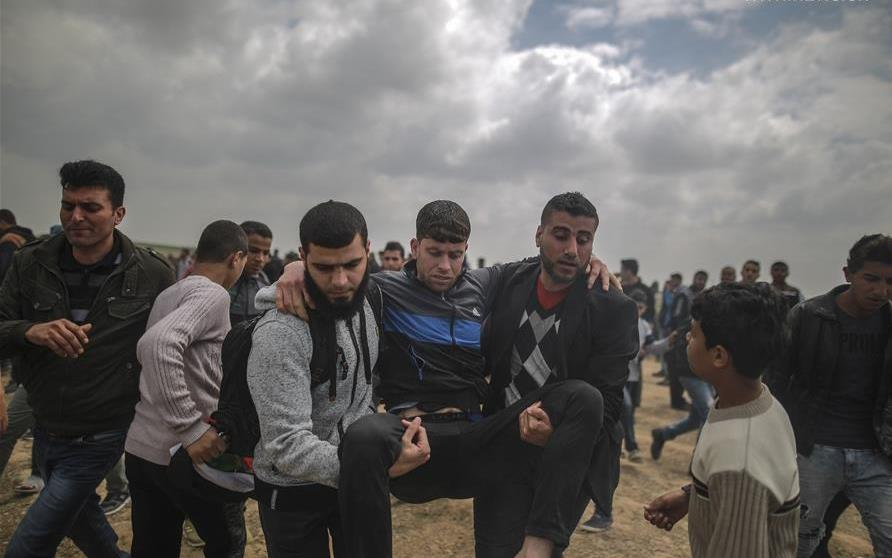Gaza's anti-Israel 'peaceful' rally turns violent, leaving 16 Palestinians dead