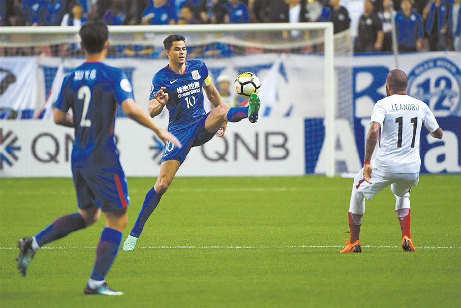 Shenhua exits ACL after Antlers home draw