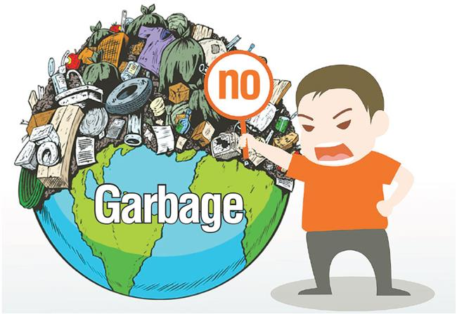 Dumping garbage overseas serves no good