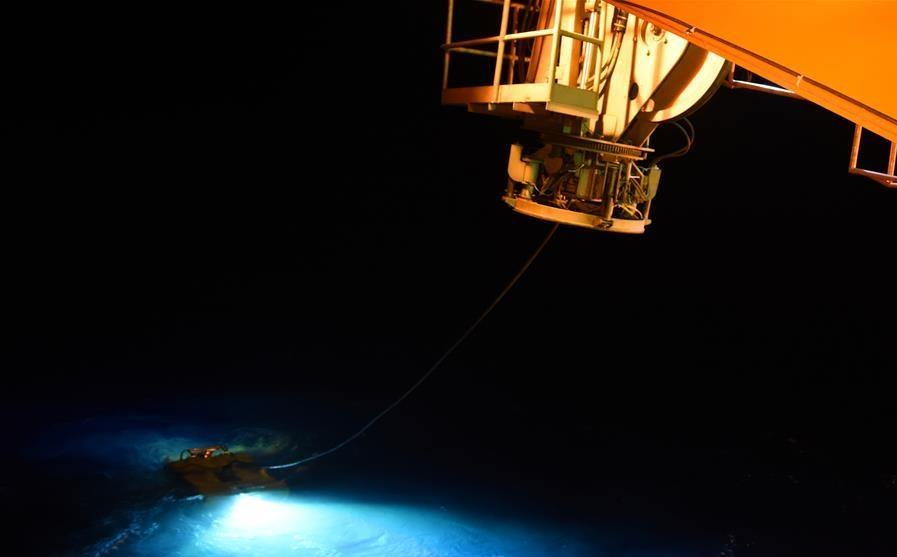 China's unmanned submersible 'Hailong III' dives to 4,266 meters under sea