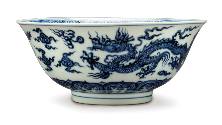 Rockefeller's significant collectionon two-day display in Shanghai