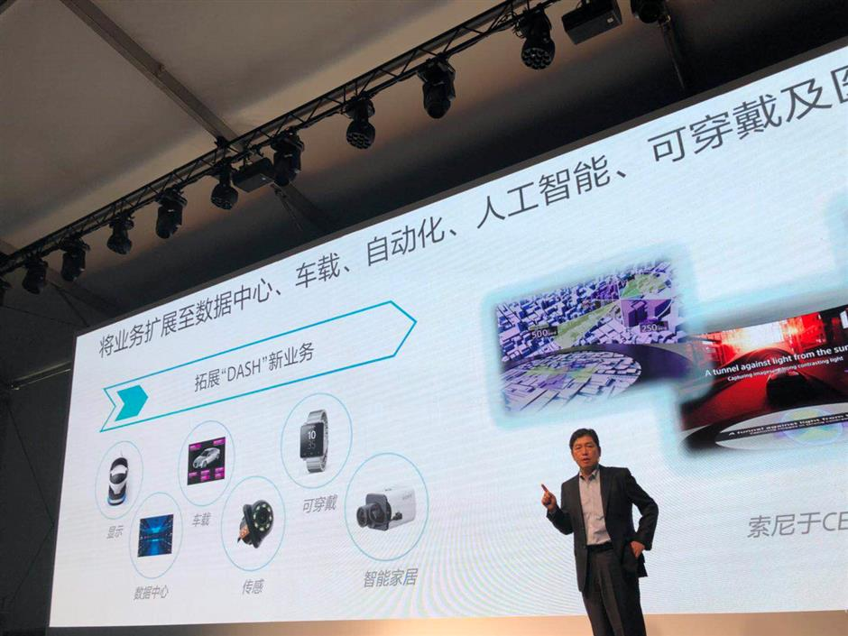 Sony sees new business as catalysts