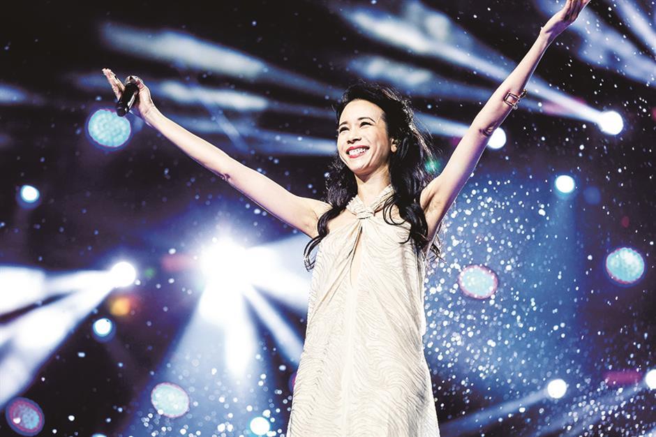 Karen Mok to kick off world tour in Shanghai