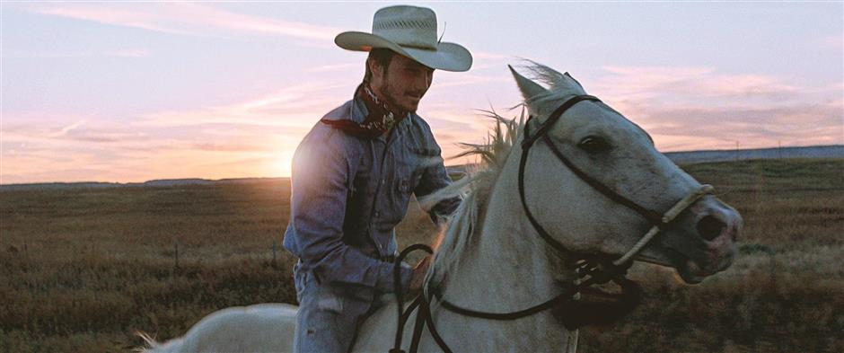 The Rider takes a spiritual journey