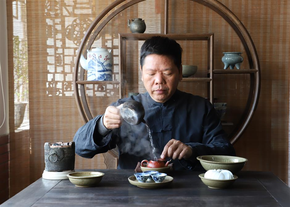 Time for tea, kung fu style