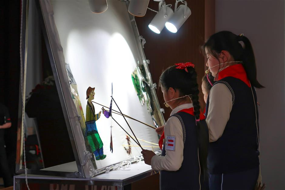 Intangible cultural heritage promoted at local school