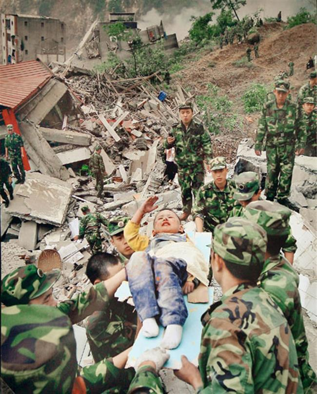 10 years on: 'Saluting boy' from the 2008 Wenchuan earthquake
