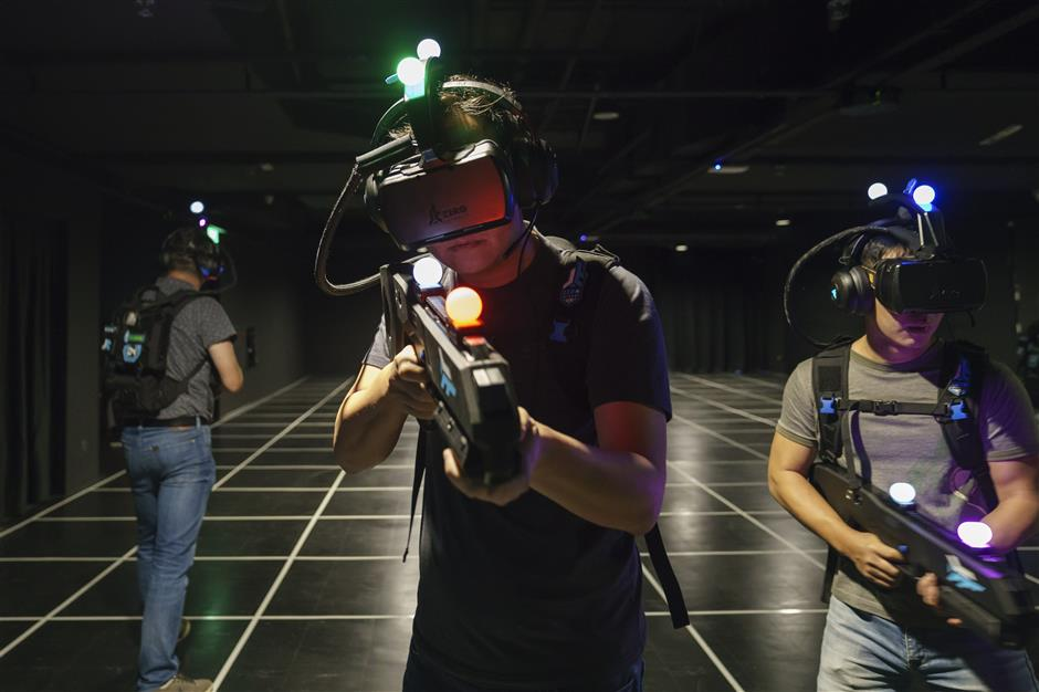 VR is new arcade mainstream