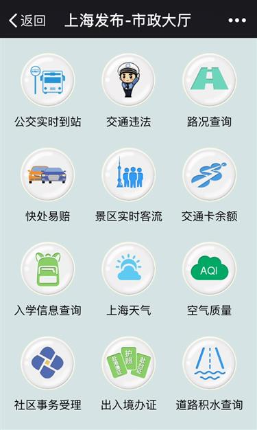 Shanghai government's WeChat account has 4 million followers