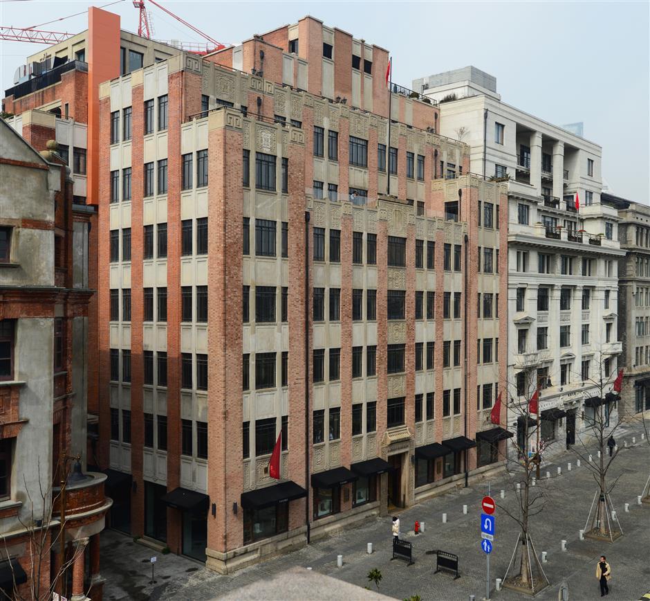 Shanghai's 1931 YMCA marked China's architectural renaissance