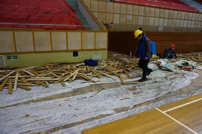 Hongkou Indoor Stadium to reopen after renovation