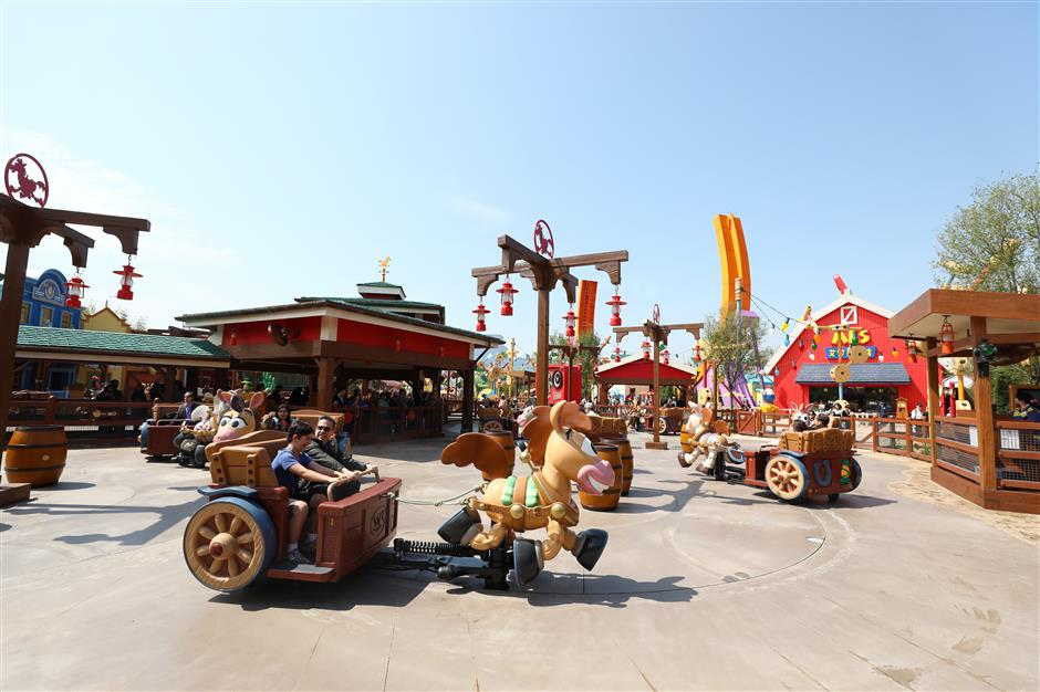Shanghai Disneyland's first major expansion opens