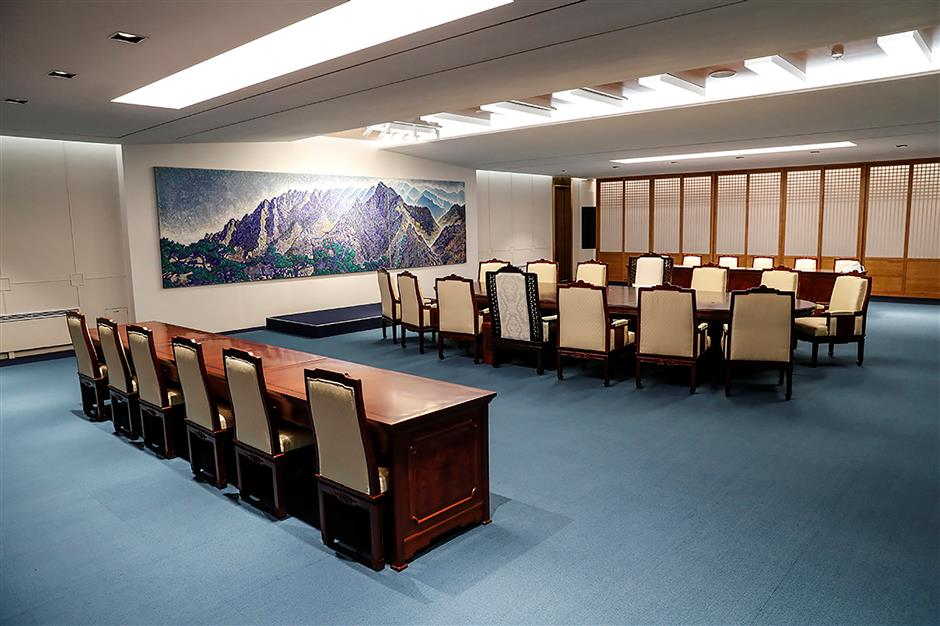 Blue House: S.Korean president to greet DPRK leader in military demarcation line for summit