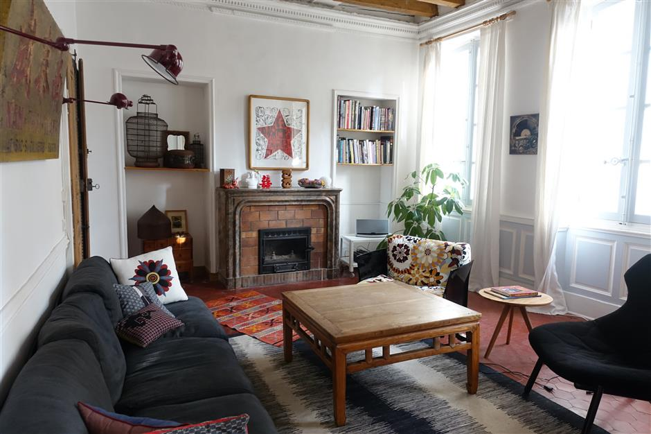 Chinese memories in a French home