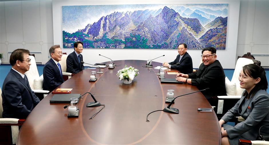 S.Korean, DPRK leaders discuss permanent peace