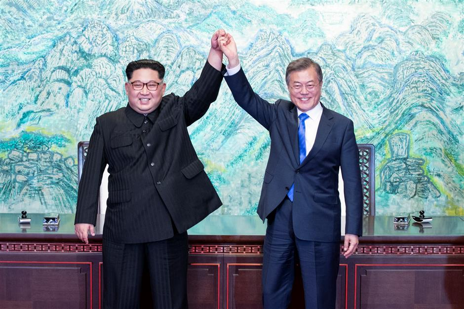 S.Korea, DPRK confirm goal of complete denuclearization, push for peace treaty